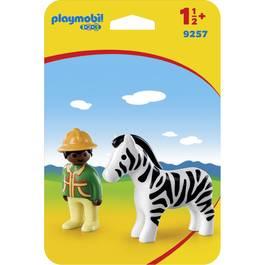 PLAYMOBIL® 1.2.3 Soigneur avec zèbre