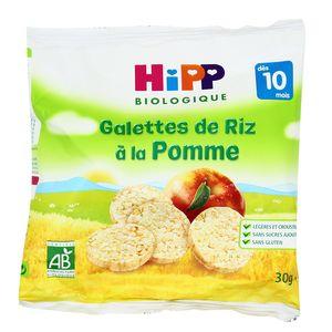 Hipp Galettes de Riz à la Pomme bio dès 10 mois