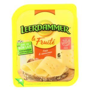 Leerdammer LEERDAMER Fruité 6 tranches 150g