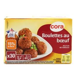 Cora 30 Boulettes au boeuf 15% MG