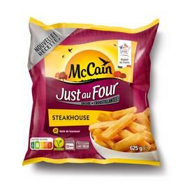 Mc Cain Frites Just au four steakhouse coupe rustique 9x18mm