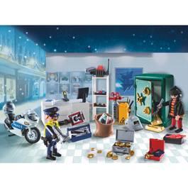 PLAYMOBIL® Christmas Calendrier de l'Avent Policier et cambrioleur