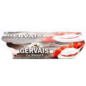 Gervais Le Yaourt sur lit de fraises