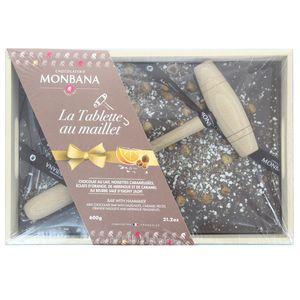 Chocolaterie Monbana Tablette Maillet au chocolat au lait
