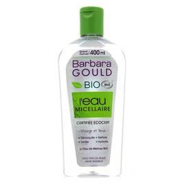 Barbara Gould Démaquillant Bio à l'eau micellaire visage et yeux