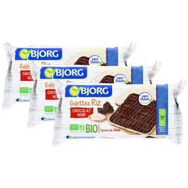 Bjorg Galettes Riz Chocolat Noir Bio
