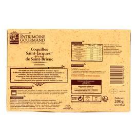 Patrimoine Gourmand 2 Coquilles Saint-Jacques cuisinées de la Baie de Saint Brieuc