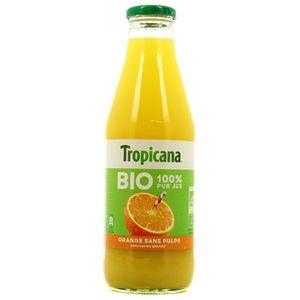 Tropicana Pur jus d'orange sans pulpe BIO