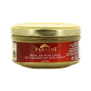 Panache Des Landes Bloc de Foie Gras de Canard des Landes