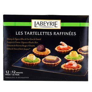 Les Tartelettes Raffinées (12 pièces),LABEYRIE,165g