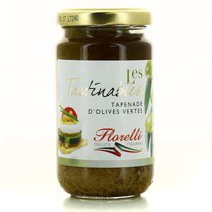 florelli tapenade d 39 olives vertes 190g. Black Bedroom Furniture Sets. Home Design Ideas