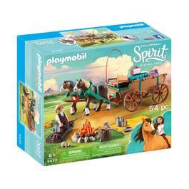 PLAYMOBIL® Spirit Jim et charrette
