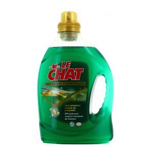 Le chat lessive aux huiles essentielles 35 lavages 2 45l - Lessive maison quelle huile essentielle ...