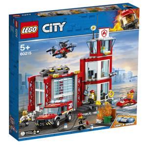 LEGO® City 60215- La caserne de pompiers