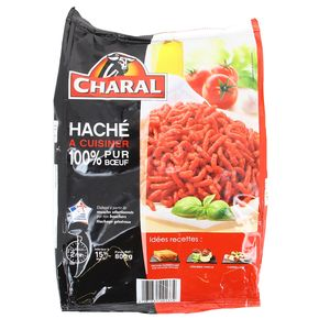 Charal Haché à cuisiner 100% pur boeuf 15% Mg