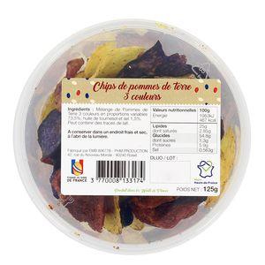 PHM production Chips de pomme de terre 3 couleurs