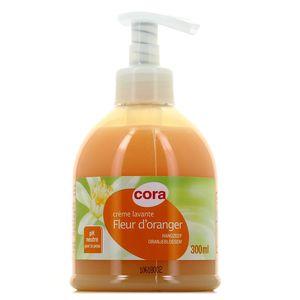 Crème lavante Fleur d orangier,CORA,300ml