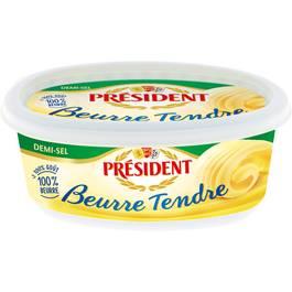 Président Beurrier Tendre 1/2 Sel
