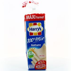 HARRYS 100% MIE NATURE FAMILIAL 650G