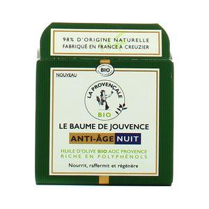 La Provencale Baume de jouvence Nuit anti-âge à l'huile d'olive Bio