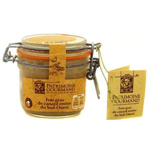 Patrimoine Gourmand Foie gras de canard du sud-ouest, 180g
