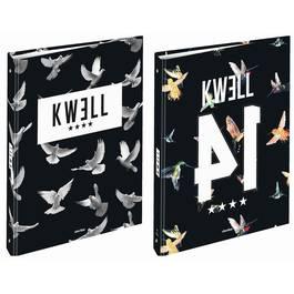 Kwell Classeur rigide dos 40 mm pour feuilles 21 x 29,7 cm