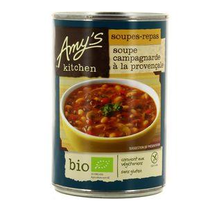Amy's Kitchen Soupe campagnarde à la provençale bio et sans gluten