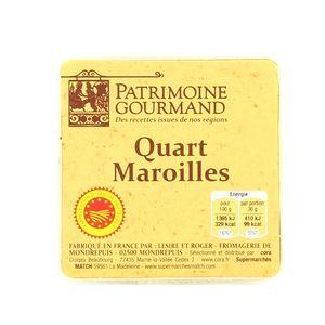 Quart maroilles AOC,PATRIMOINE GOURMAND,200g