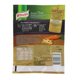 Knorr Soupe Thaï au champignon et pousse de soja