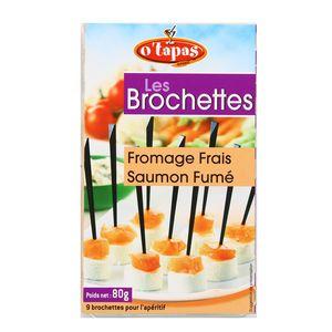 O'Tapas 9 Brochettes de Fromage saumon fumé
