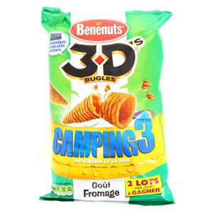 Benenuts Fromage 3 D's