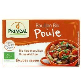 Bouillon Bio de Poule, 8x,PRIMEAL,8x