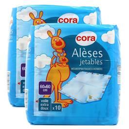 Cora Alèses jetables 60 x 60cm