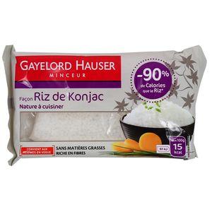 Gayelord Hauser Riz de Konjac, 200g : houra.fr
