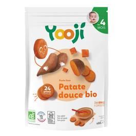 Yooji Purée de Patates douces bio surgelée en portions dès 4 mois