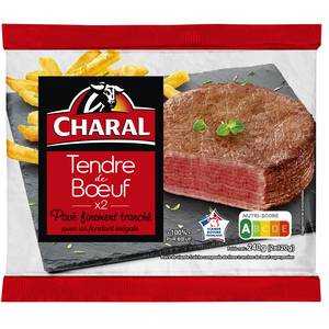 Charal Le tendre de boeuf charal