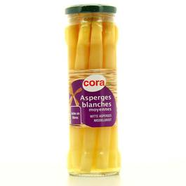 Asperges blanches moyennes ,CORA,37cl