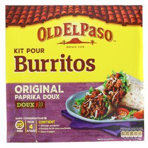 Old el Paso Kit pour burritos original doux