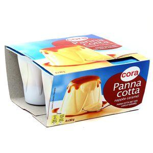 Cora Panna cotta nappée caramel