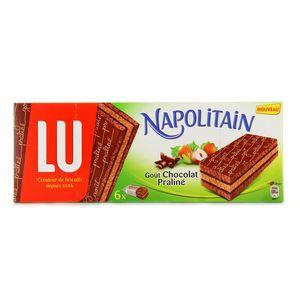 Gateaux Napolitain gout chocolat praline