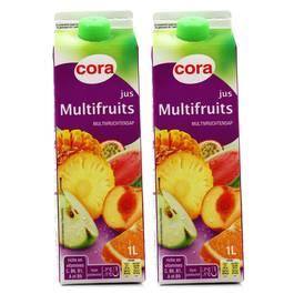 Cora Jus multifruits