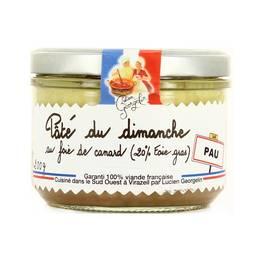 Lucien Georgelin Pâté du Dimanche au foie gras de canard