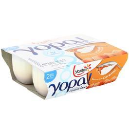 YOPA 2,8% 100gx4 - sur lit de caramel