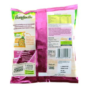 Bonduelle Légumes et céréales cuisinés- Chou Kale, Oignon Violet, Pois et Perles de Couscous sauce basilic et menthe