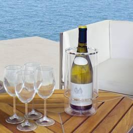 The Kitchenette Rafraichisseur à vin double paroi