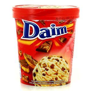 Glace caramel Daim