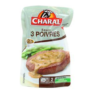 Charal Sauce aux 3 poivres