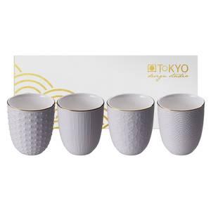 Tokyo Design Studio Coffret de 4 tasses Nippon White Gold 16450