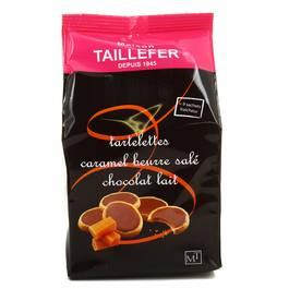 maison taillefer tartelettes caramel beurre sal chocolat au lait 125g. Black Bedroom Furniture Sets. Home Design Ideas