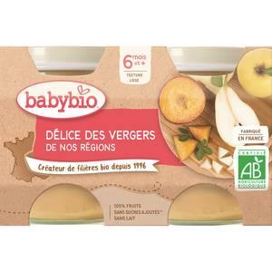 Babybio - Mes Fruits Délice des vergers de france